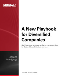 A New Playbook for Diversified Companies