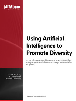 Using Artificial Intelligence to Promote Diversity