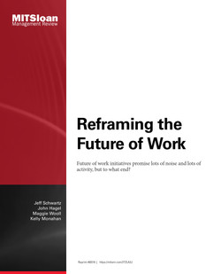 Reframing the Future of Work