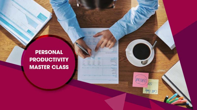 Personal Productivity Master Class