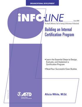 Building An Internal Certification Program—Organizational Development
