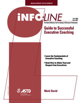Guide to Successful Executive Coaching—Management Development