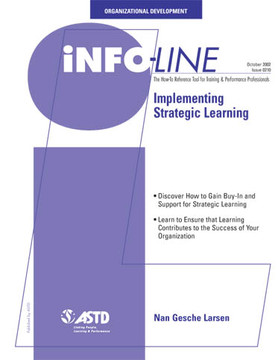 Implementing Strategic Learning—Organizational Development