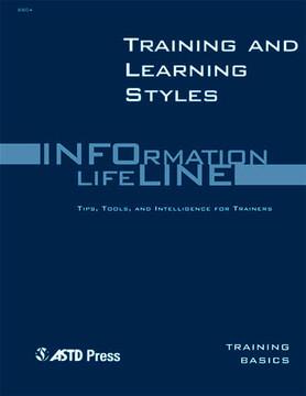 Training and Learning Styles—Training Basics