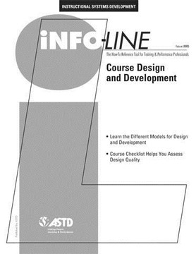 Course Design and Development—Instructional Systems Development