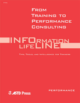 From Training to Performance Consulting