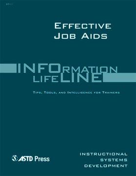 Effective Job Aids—Instructional Systems Development