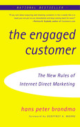 Book cover for The Engaged Customer