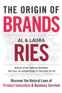 Book cover for The Origin of Brands