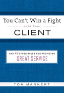 Cover of You Can't Win a Fight with Your Client