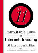 Cover of The 22 Immutable Laws of Branding