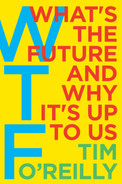 Cover of WTF?: What's the Future and Why It's Up to Us