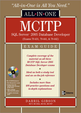 All-In-One MCITP SQL Server 2005 Database Developer