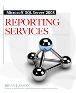 Cover of Microsoft SQL Server 2008 Reporting Services