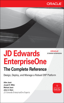 JD Edwards EnterpriseOne: The Complete Reference