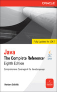 Cover of Java: The Complete Reference™, Eighth Edition