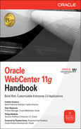 Cover of Oracle WebCenter 11g Handbook