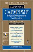 Cover of All-in-One CAPM/PMP Project Management Certification  Exam Guide, Second Edition
