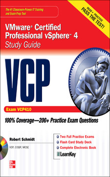 VCP VMware® Certified Professional Sphere™ Study Guide (EExam VCP410)