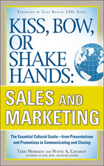 Kiss, Bow, or Shake Hands: Sales and Marketing