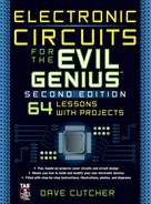 Cover of Electronic Circuits for the Evil Genius 2/E