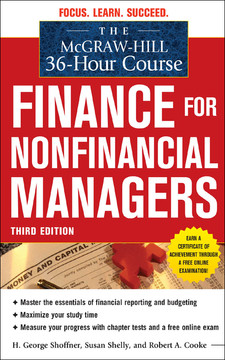 The McGraw-Hill 36-Hour Course: Finance for Nonfinancial Managers