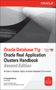 Cover of Oracle Database 11g Oracle Real Application Clusters Handbook, Second Edition