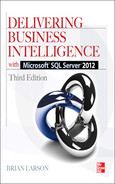 Cover of Delivering Business Intelligence with Microsoft® SQL Server® 2012, Third Edition