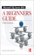 Cover of Microsoft® SQL Server® 2012: A Beginner's Guide, Fifth Edition