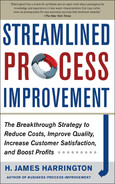 Cover of Streamlined Process Improvement