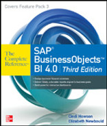 Cover of The Complete Reference™ SAP® BusinessObjects™ BI 4.0: Third Edition