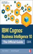 Cover of IBM® Cognos® Business Intelligence 10: The Official Guide