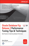 Cover of Oracle Database 11g Release 2 Performance Tuning Tips & Techniques
