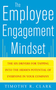 Cover of The Employee Engagement Mindset: The Six Drivers for Tapping into the Hidden Potential of Everyone in Your Company