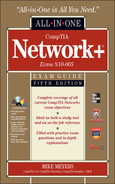 Book cover for CompTIA Network+ Certification All-in-One Exam Guide