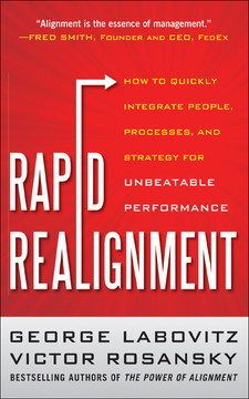 Rapid Realignment: How to Quickly Integrate People Processes, and Strategy for Unbeatable Performance