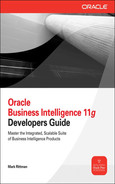 Book cover for Oracle Business Intelligence 11g Developers Guide