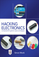 Cover of Hacking Electronics: An Illustrated DIY Guide for Makers and Hobbyists