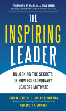 The Inspiring Leader: Unlocking the Secrets of How Extraordinary Leaders Motivate (Audio Book)