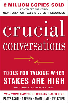 Crucial Conversations: Tools for Talking When Stakes Are High, Second Edition (Audio Book)