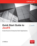 Cover of Quick Start Guide to JavaFX