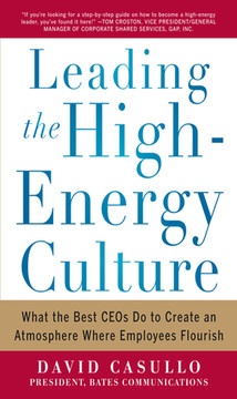 Leading the High Energy Culture: What the Best CEOs Do to Create an Atmosphere Where Employees Flourish (Audio Book)