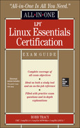 Cover of LPI Linux Essentials Certification All-in-One Exam Guide