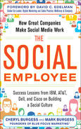 Cover of The Social Employee: How Great Companies Make Social Media Work