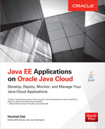 Cover of Java EE Applications on Oracle Java Cloud: Develop, Deploy, Monitor, and Manage Your Java Cloud Applications