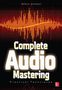 Cover of Complete Audio Mastering: Practical Techniques