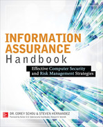 Cover of Information Assurance Handbook: Effective Computer Security and Risk Management Strategies