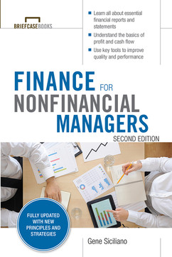 Finance for Nonfinancial Managers, Second Edition (Briefcase Books Series), 2nd Edition