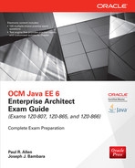 Cover of OCM Java EE 6 Enterprise Architect Exam Guide (Exams 1Z0-807, 1Z0-865 & 1Z0-866), 3rd Edition