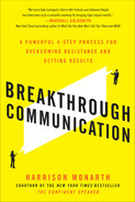 Cover of Breakthrough Communication: A Powerful 4-Step Process for Overcoming Resistance and Getting Results